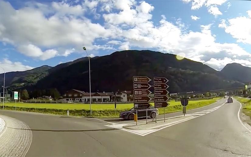 לנהוג בצפון איטליה, כבישים רחבים ונופים מרהיבים