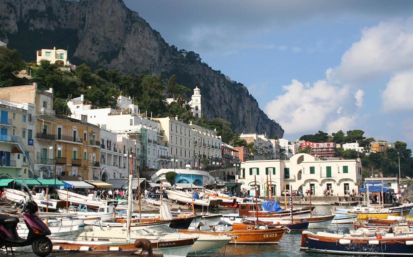 האי קאפרי דרום איטליה