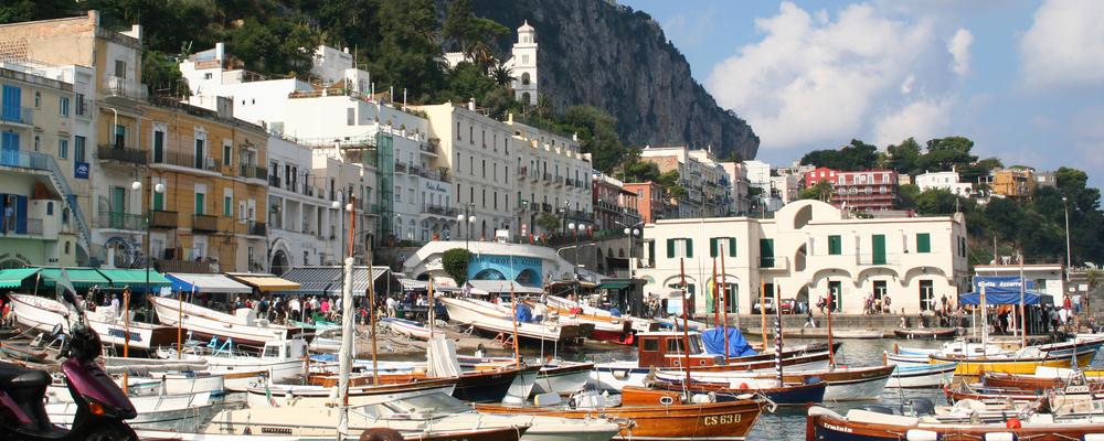 גן עדן בדרום איטליה : טיול באי קאפרי